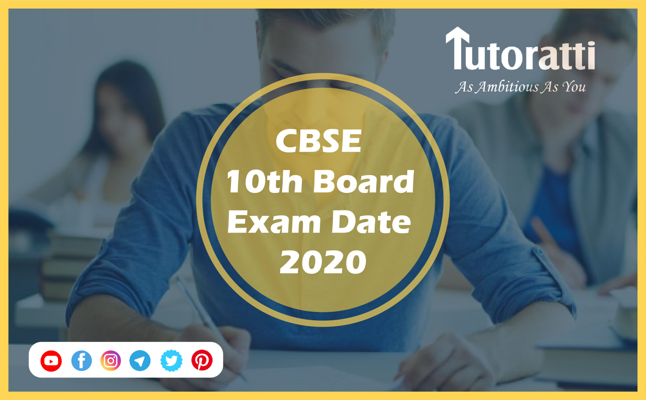 CBSE 10th Board Exam Date 2020
