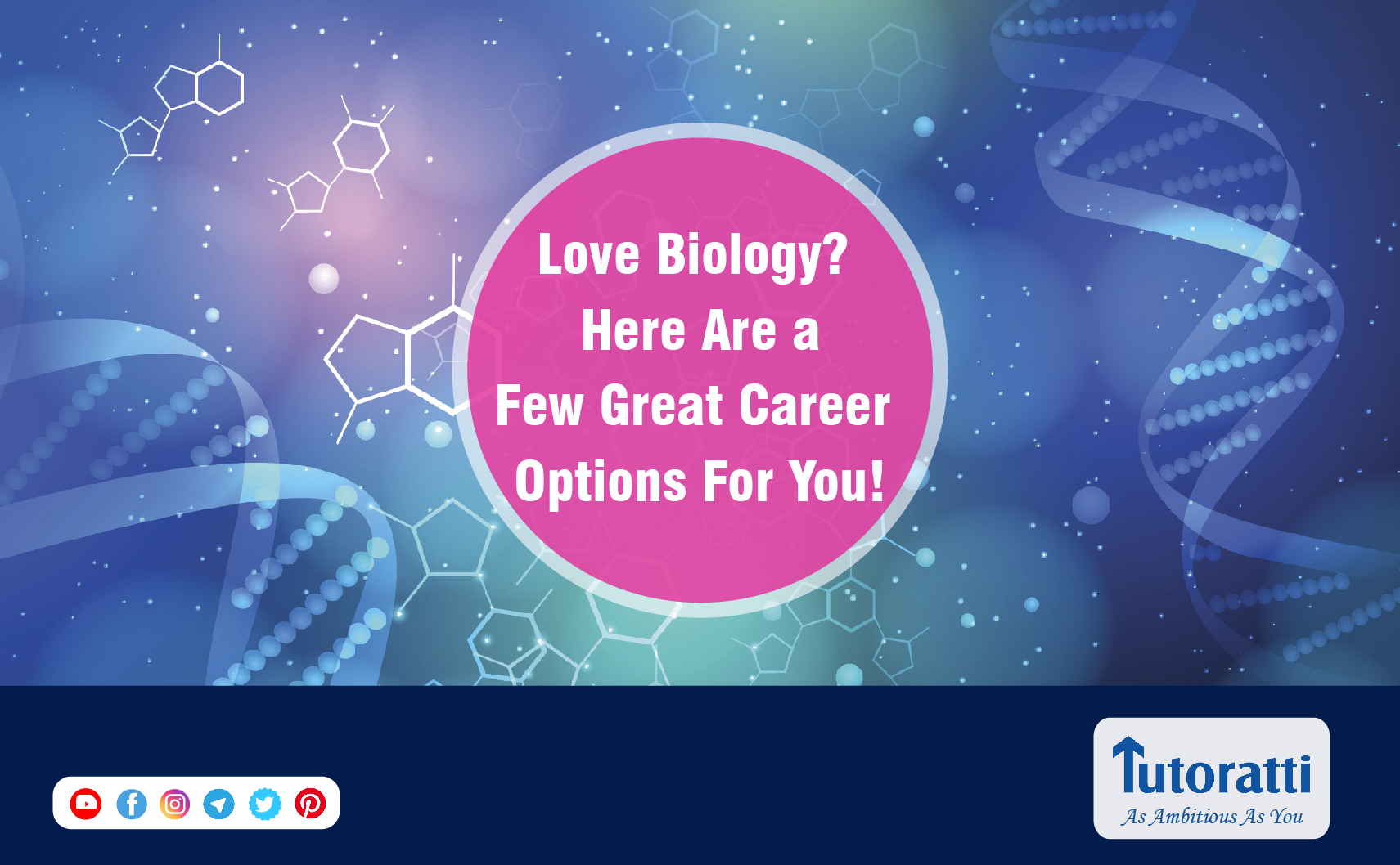 Love Biology? Here are a few great career options for you!