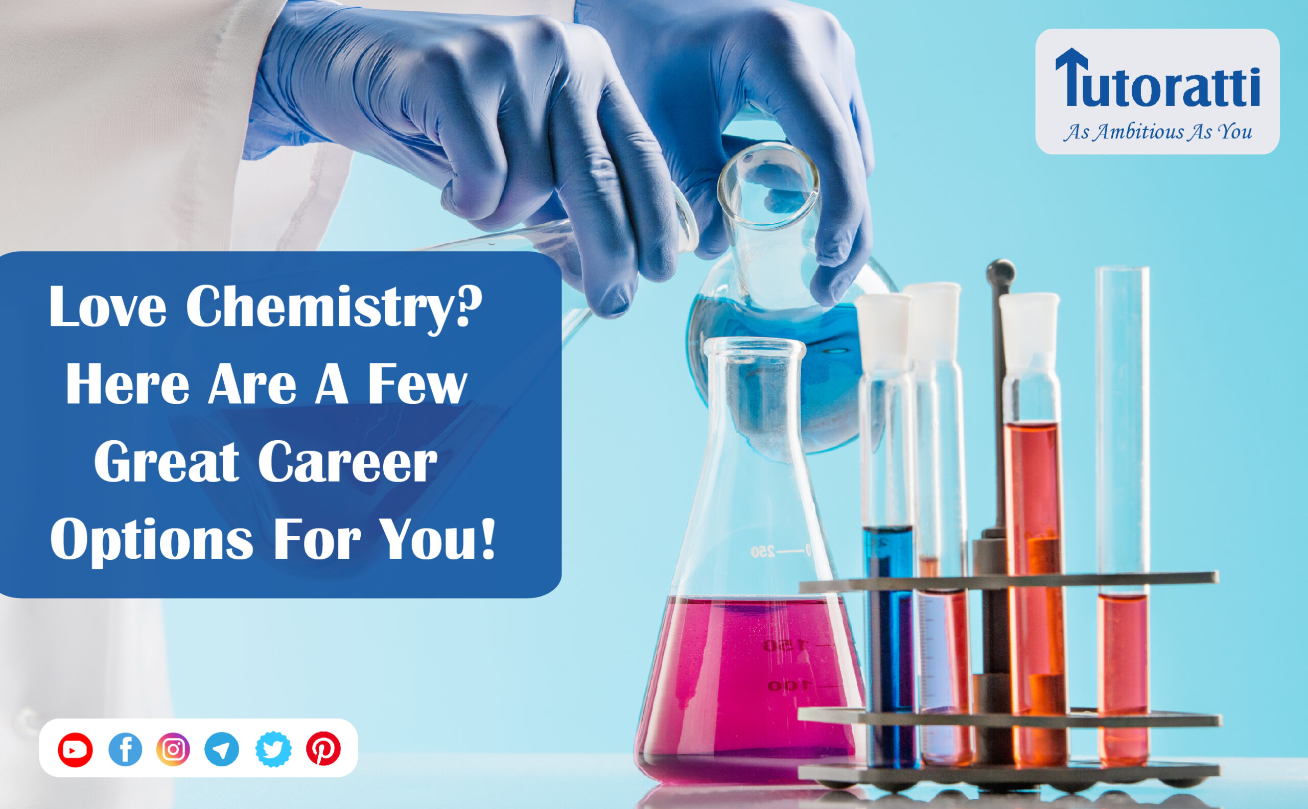 Love Chemistry? Here are a few great career options for you!